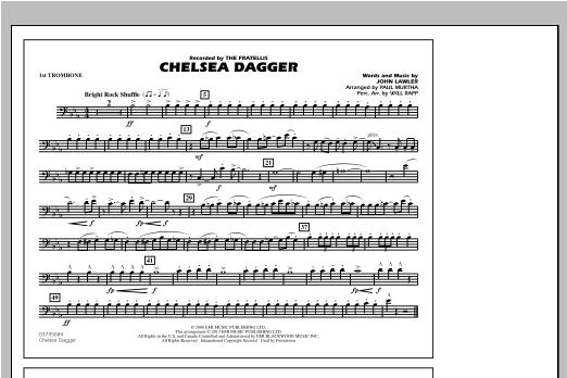 Chelsea Dagger - 1st Trombone Sheet Music
