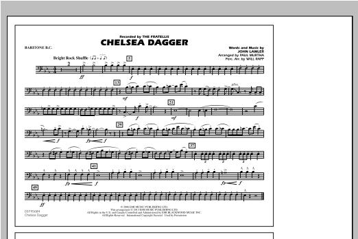 Chelsea Dagger - Baritone B.C. Partition Digitale