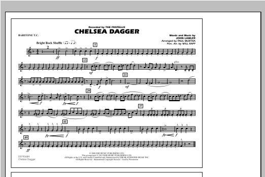 Chelsea Dagger - Baritone T.C. Sheet Music