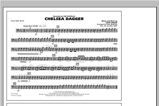 Chelsea Dagger - Electric Bass Sheet Music