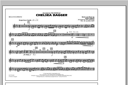 Chelsea Dagger - Bells/Xylophone Sheet Music