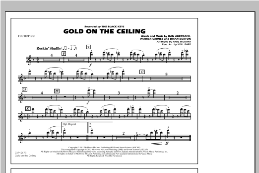 Gold On The Ceiling - Flute/Piccolo Sheet Music