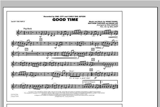Good Time - 2nd Bb Trumpet Sheet Music