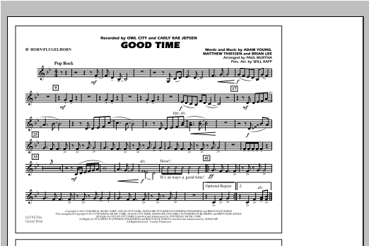 Good Time - Bb Horn/Flugelhorn Sheet Music