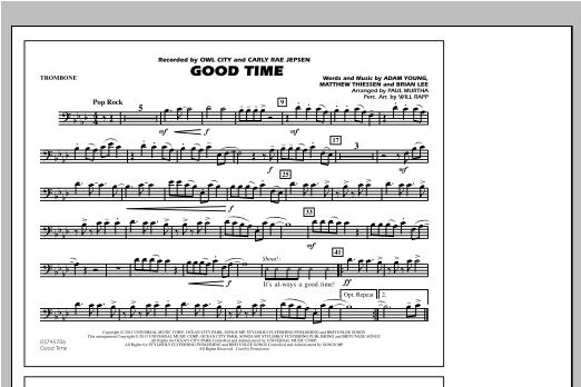 Good Time - Trombone Sheet Music