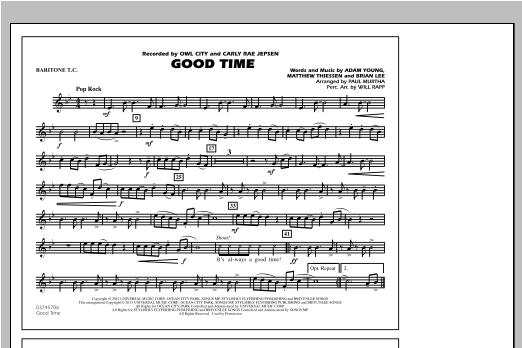 Good Time - Baritone T.C. Sheet Music