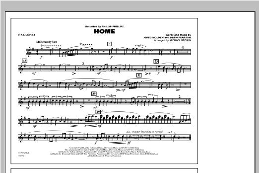 Home - Bb Clarinet Sheet Music