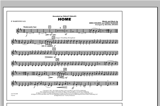 Home - Eb Baritone Sax Sheet Music
