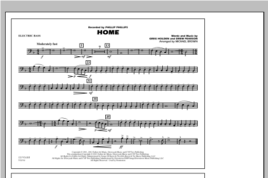 Home - Electric Bass Sheet Music