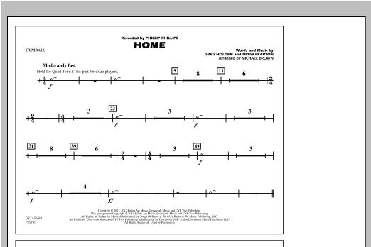 Home - Cymbals Sheet Music