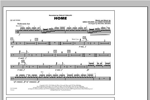 Home - Quad Toms Sheet Music