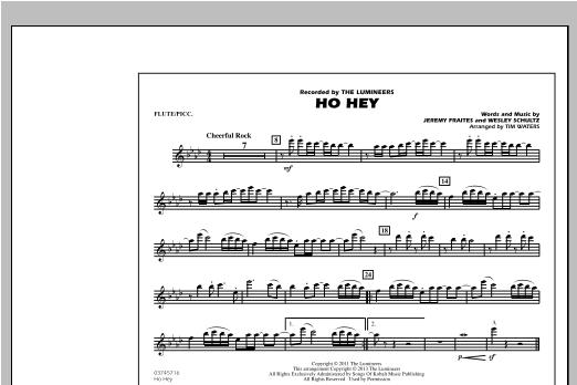 Ho Hey - Flute/Piccolo Sheet Music