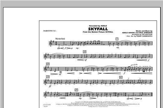 Skyfall - Baritone T.C. Sheet Music