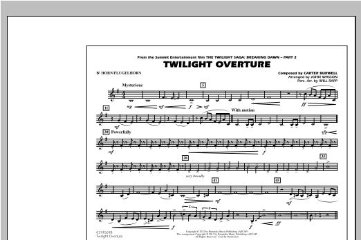 Twilight Overture - Bb Horn/Flugelhorn Sheet Music