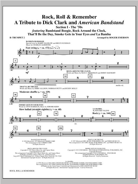 Rock, Roll & Remember - Bb Trumpet 2 Sheet Music