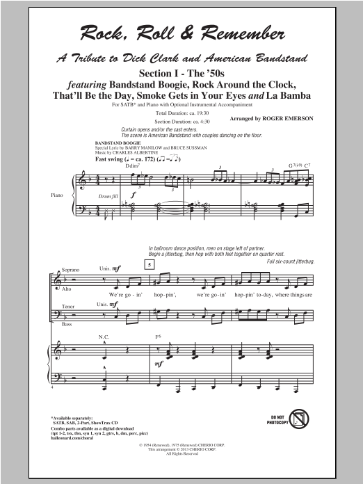 The Jackson 5 (from Motown the Musical) Sheet Music