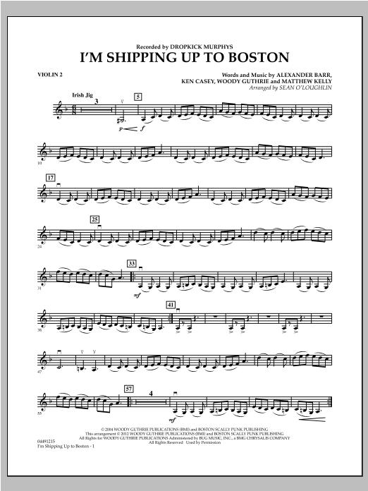 I'm Shipping Up To Boston - Violin 2 (Orchestra)