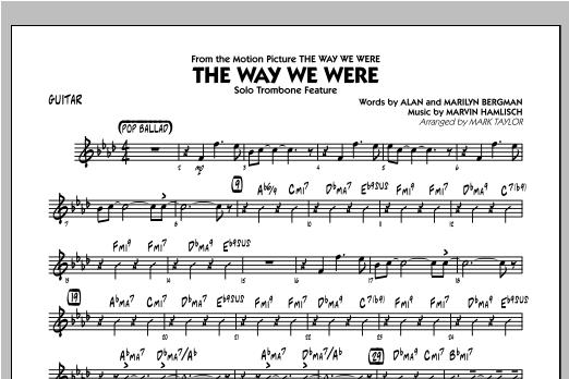 The Way We Were - Guitar Sheet Music