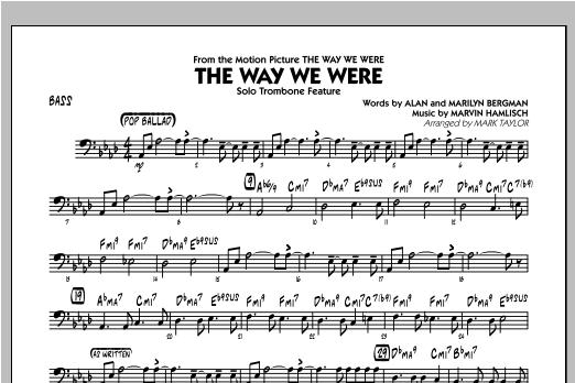 The Way We Were - Bass Sheet Music