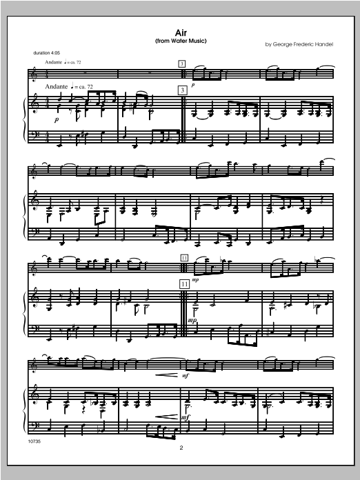 Wedding Masterworks - Flute (COMPLETE) sheet music for flute and piano by Halferty. Score Image Preview.
