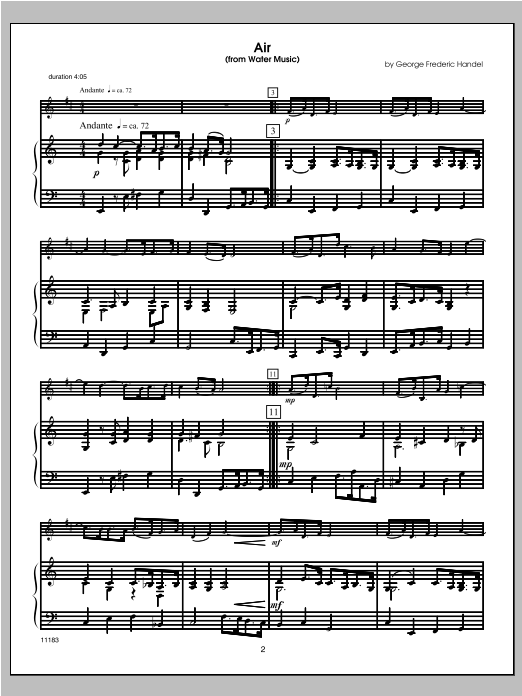 Wedding Masterworks - Clarinet - Piano/Score Sheet Music