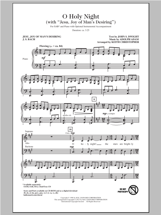 Jesu, Joy Of Man's Desiring Sheet Music
