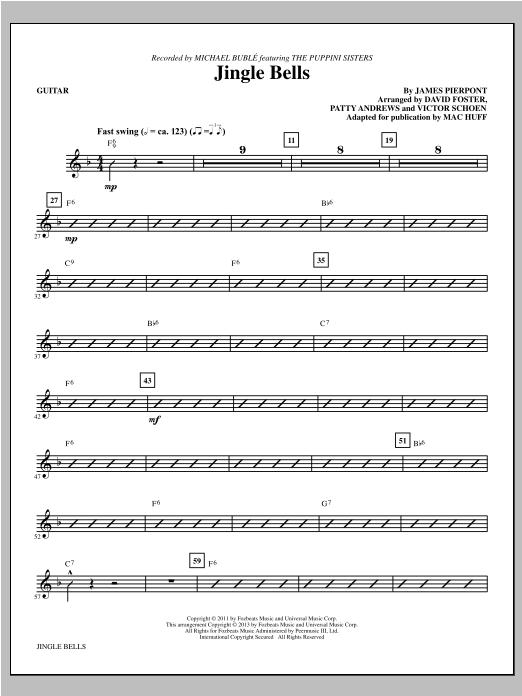 Jingle Bells - Guitar (Choir Instrumental Pak)