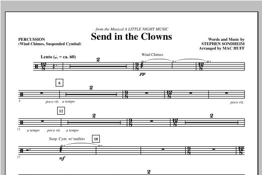 Send in the Clowns - Percussion (Choir Instrumental Pak)