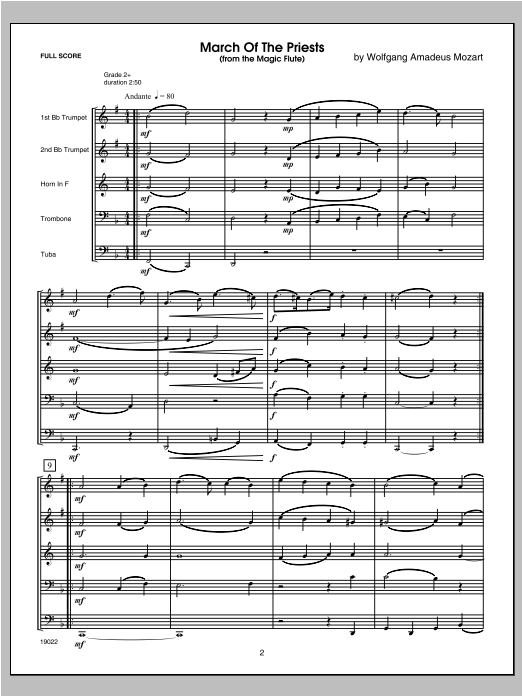 Six Classical And Romantic Piece (COMPLETE) sheet music for brass quintet by Kaisershot. Score Image Preview.