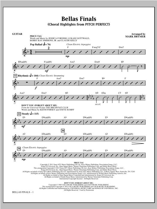 Bellas Finals - Guitar Sheet Music