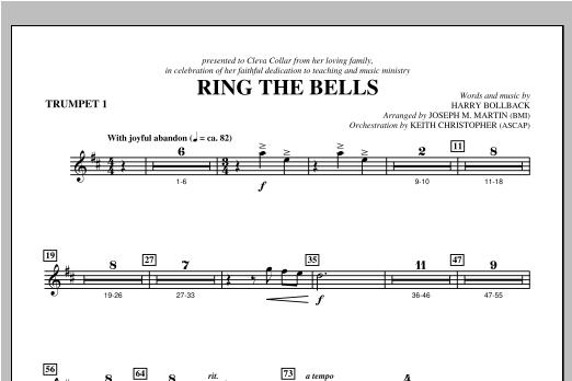 Ring the Bells - Bb Trumpet 1 Sheet Music