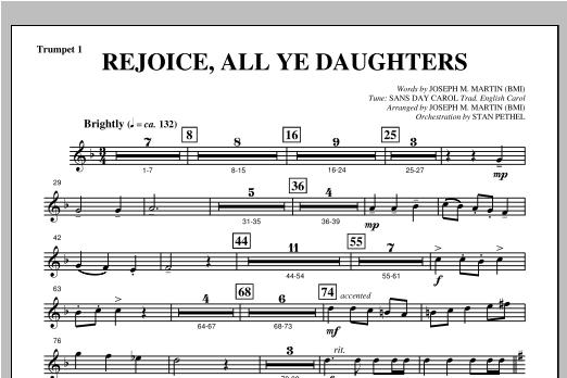 "Rejoice, All Ye Daughters (from ""season Of Wonders"") - Bb Trumpet 1 Sheet Music"