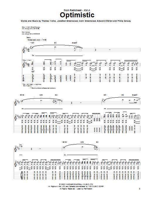 Paranoid Android By Radiohead Hal Leonard Prima Music