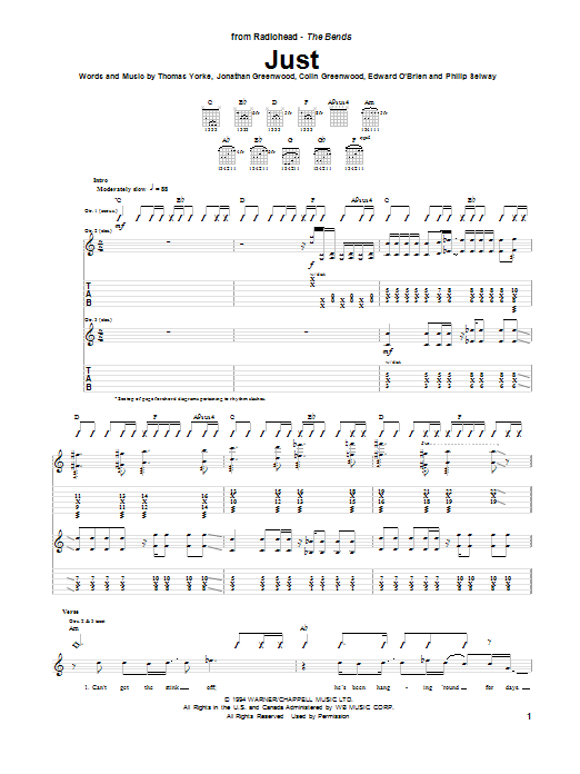 Just Sheet Music