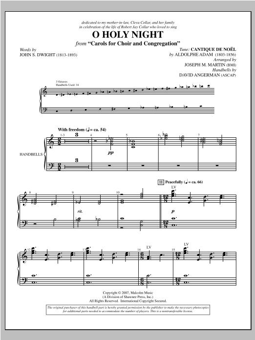 Carols for Choir and Congregation - Handbells Sheet Music