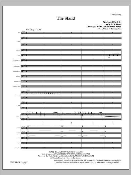 The Stand - Full Score Sheet Music