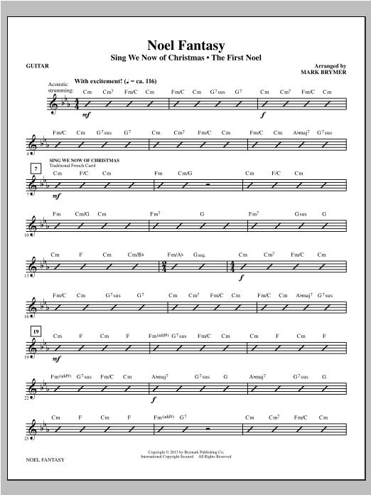 Noel Fantasy - Guitar (Choir Instrumental Pak)