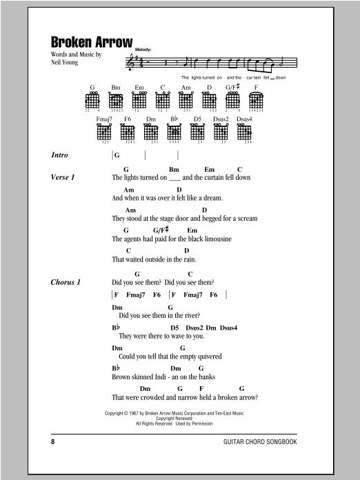 Broken Arrow Sheet Music