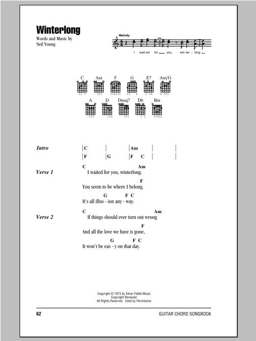 Winterlong (Guitar Chords/Lyrics)
