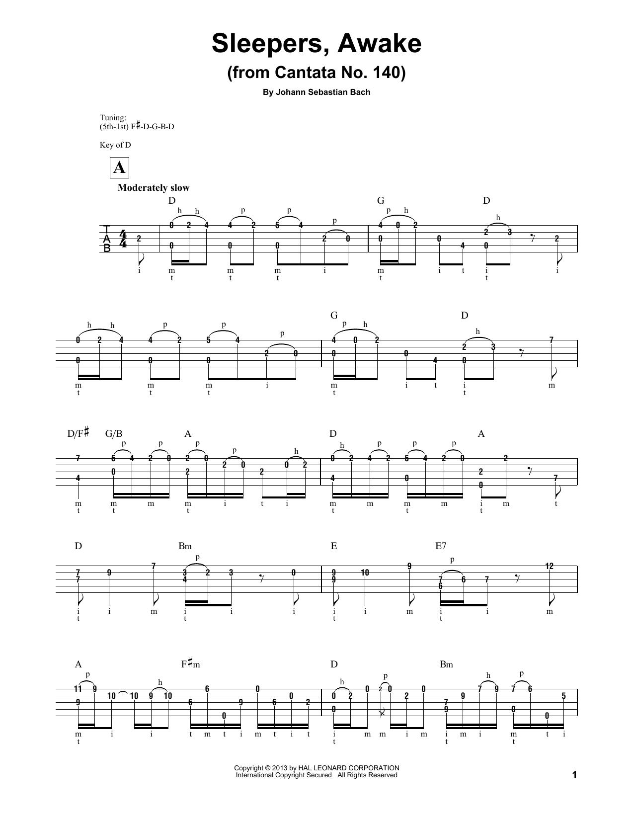 Sleepers, Awake (Wachet Auf) Sheet Music