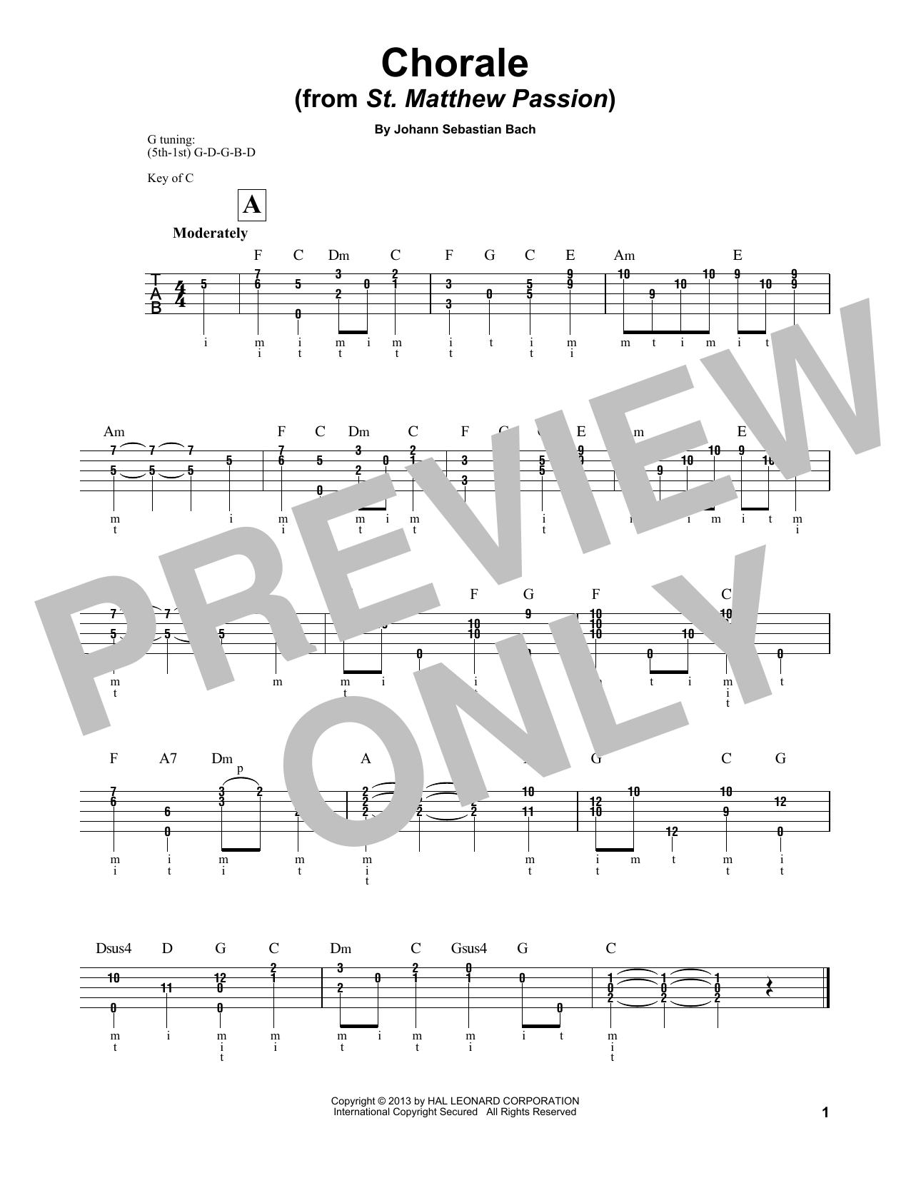 Chorale Sheet Music