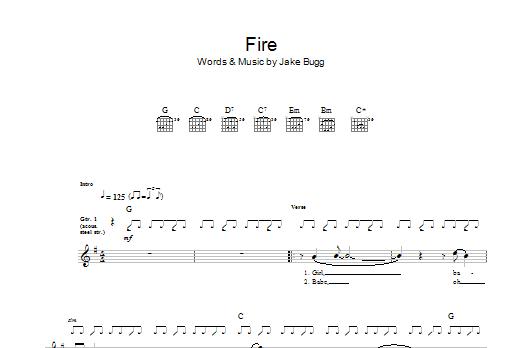 Fire Sheet Music