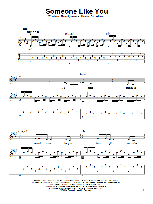 Tablature Guitare Simple Jk45 Jornalagora