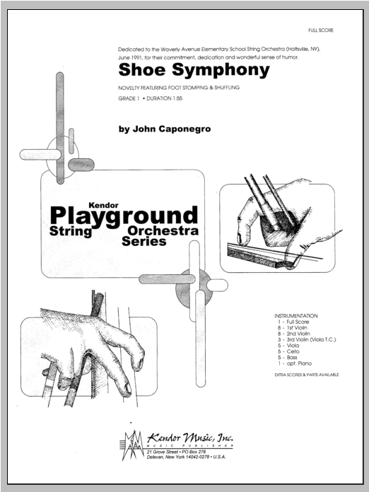 Shoe Symphony - Full Score Partituras Digitales