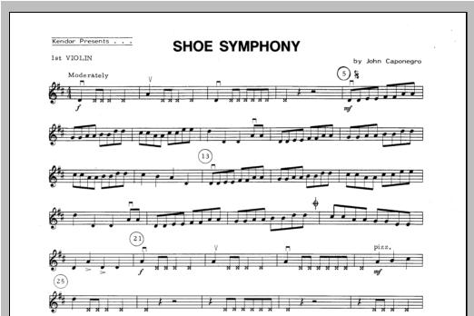 Shoe Symphony - Violin 1 Sheet Music