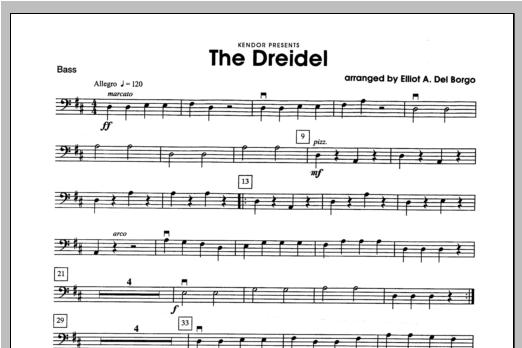 Dreidel, The - Bass Sheet Music