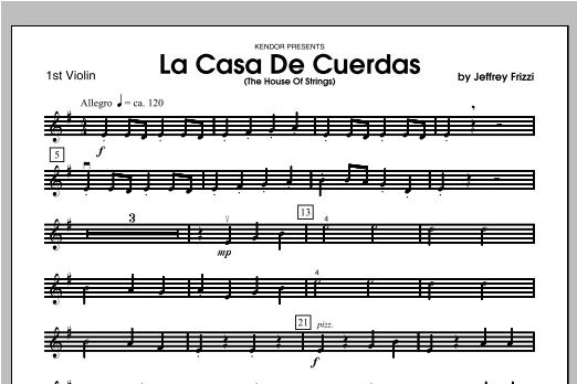 La Casa De Cuerdas (The House Of Strings) - Violin 1 Sheet Music