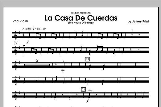 La Casa De Cuerdas (The House Of Strings) - Violin 2 Sheet Music
