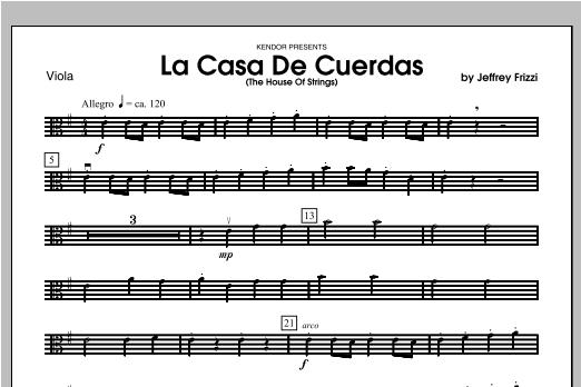 La Casa De Cuerdas (The House Of Strings) - Viola Sheet Music