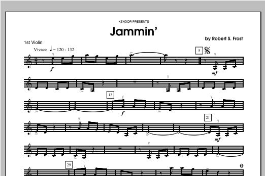 Jammin' - Violin 1 Sheet Music